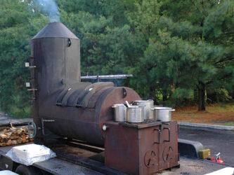 Rook oven voor slow cooking